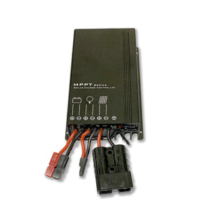 Overland Solar - 10 AMP MPPT Charge Controller Bundle For 120, 130 & 160 Watt Panels