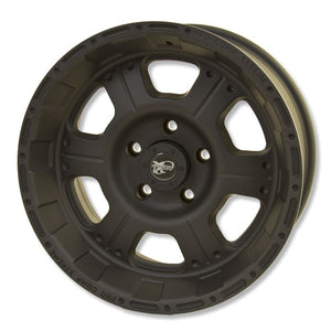 Pro Comp Series 7089 Flat Black 17x8 5x5 ET 0 (Single Wheel)
