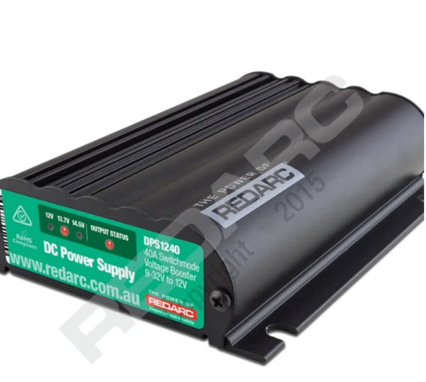 REDARC- 12V 40A In-Vehicle DC Power Supply