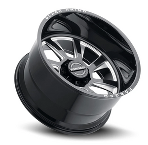 Black Rhino® -Marauder Forged-Gloss Black w/ Milled Spokes-(Jeep)