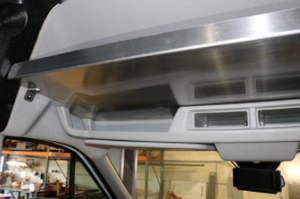VAN COMPASS™-Ford Transit High Roof Overhead Shelf (2013-Present)