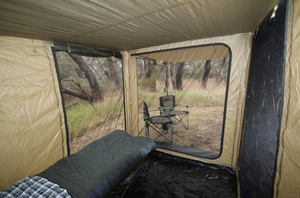 Ironman 4x4 - Awning Room & Net (Suits 2.5M Awning)