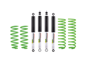 "Ironman- Nitro Gas 4"" Suspension Kit - Performance Load (0-550LBS) Suited for Jeep Wrangler JK"