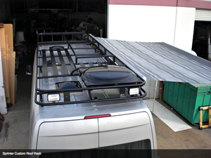 Aluminess Roof Rack - Mercedes Sprinter