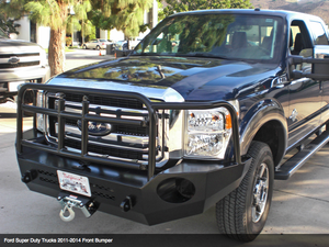 Aluminess Front Bumper - Ford Super Duty
