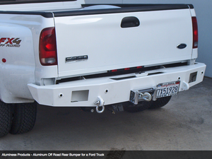 Aluminess Rear Bumper - Ford Super Duty