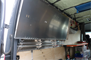 VAN COMPASS FLIP AND LOAD PLATFORM BED (2007+ SPRINTER HIGH ROOF) *Ships Freight