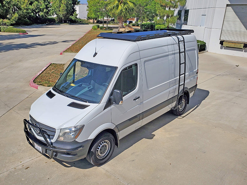 Aluminess Mercedes Sprinter Modular Roof Rack Vent Cover Kit