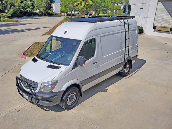 Aluminess Mercedes Sprinter Modular Roof Rack