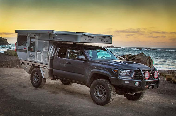 Customer Classified: 2016 Toyota Tacoma with Norweld Flat bed and Four Wheel Camper Woolrich Edition