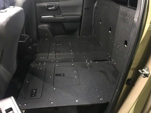 Goose Gear- Tacoma Double Cab 2nd Row Seat Delete (without Back Wall Panels) (2nd & 3rd Generations)