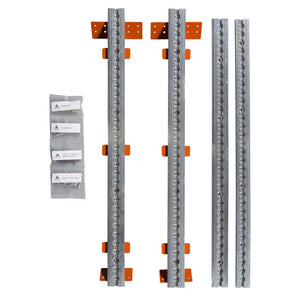 Adventure Wagon Wall Track & Bracer Kit for Sprinter 144