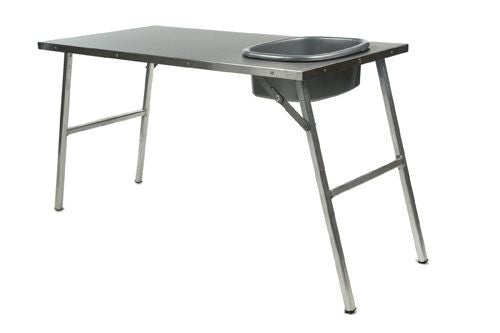 Front Runner STAINLESS STEEL PREP TABLE W/ BASIN