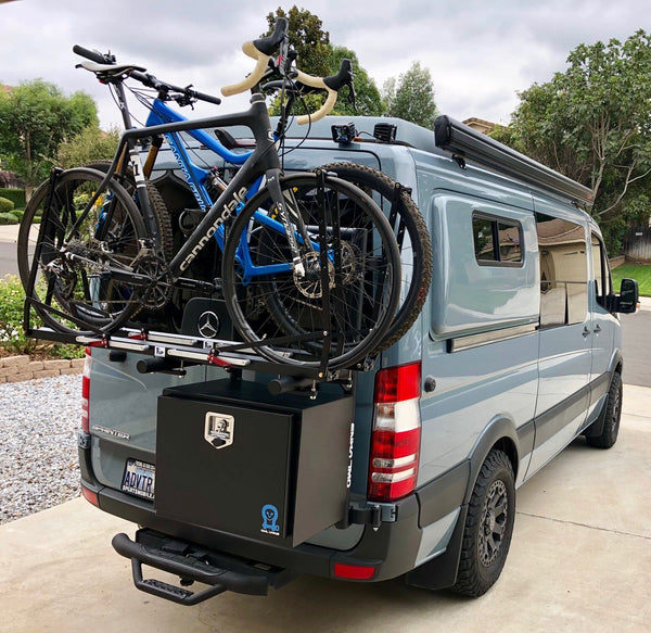Owl Van Engineering B2 Carrier (Bike + Box) for Sprinter 2nd Gen NCV3 (2007-2018)