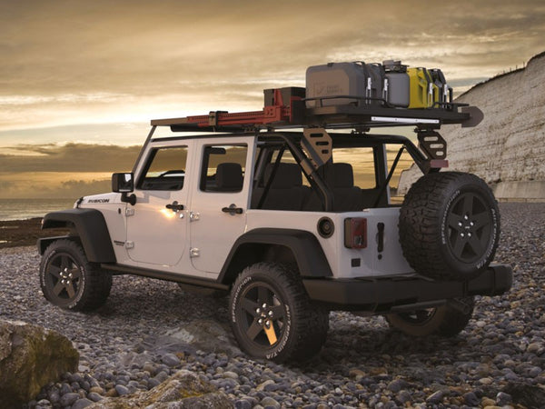 Front Runner JEEP WRANGLER JKU 4 DOOR (2007-2018) SLIMLINE II EXTREME ROOF RACK KIT
