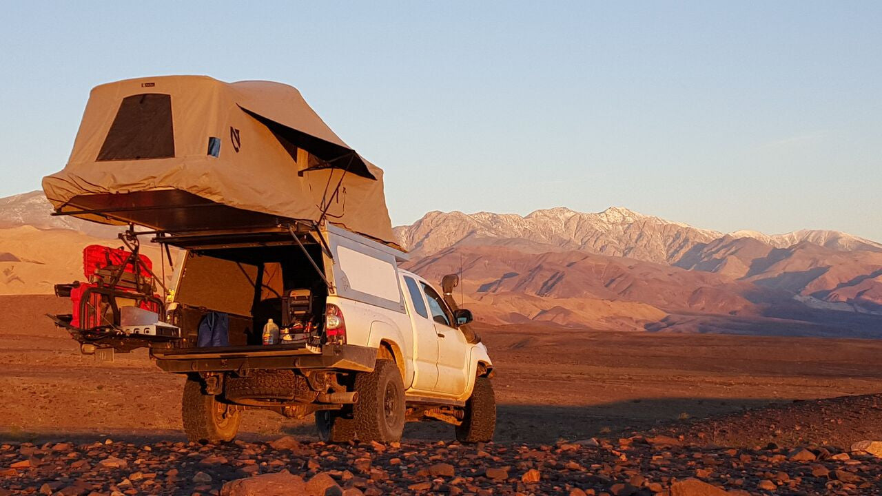 AT OVERLAND EQUIPMENT - TACOMA HABITAT & Roof Top Tents u0026 Awnings - Main Line Overland