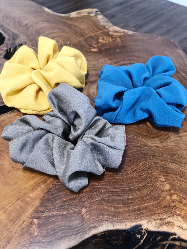 Earth Tones Scrunchies