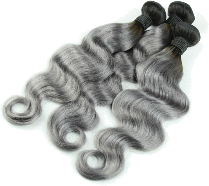 Image result for grey hair bundles