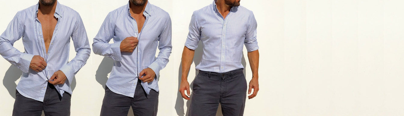 large discount good looking meticulous dyeing processes The Zip Fit shirt by Teddy Stratford