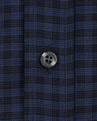 Black and Blue Plaid - Small Batch #4