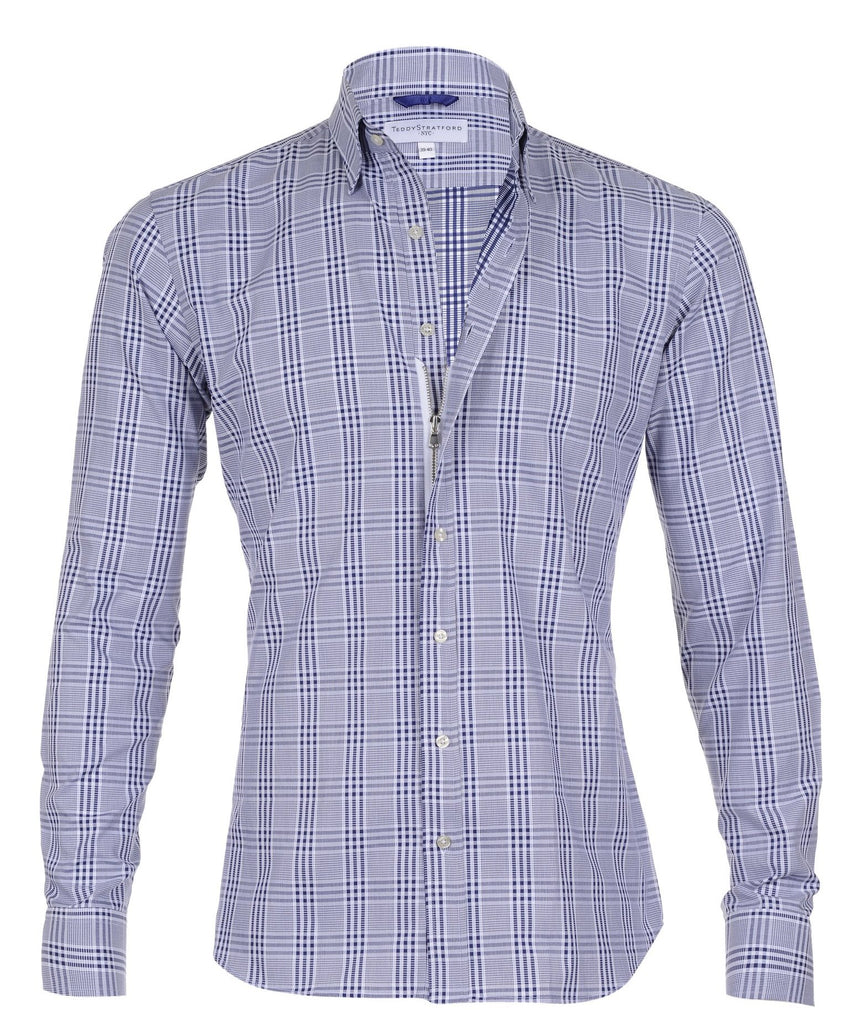 Blue and White Plaid - Small Batch #3