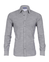 The Gray Slub Oxford - Small Batch #11