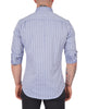 Gray Blue Melange Stripe- Small Batch #116