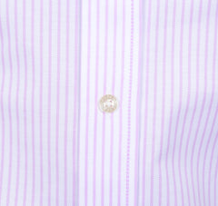 Lavender Pinstriped Oxford - Small Batch #8