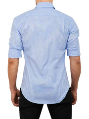 Light Blue Gingham- Small Batch # 21