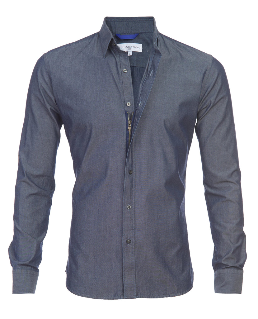 Indigo Chambray- Small Batch #86