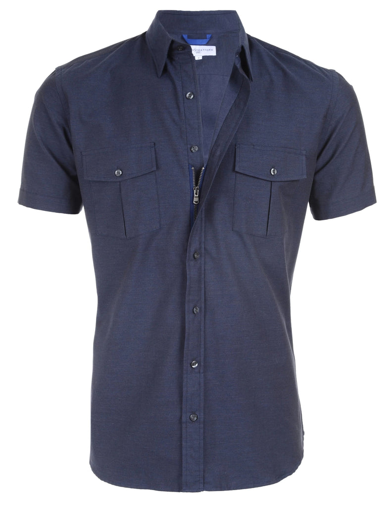 The Midnight Twill Cop Shirt- Small Batch #35