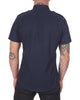 Short Sleeve Pilot Shirt in Midnight- Small Batch #108