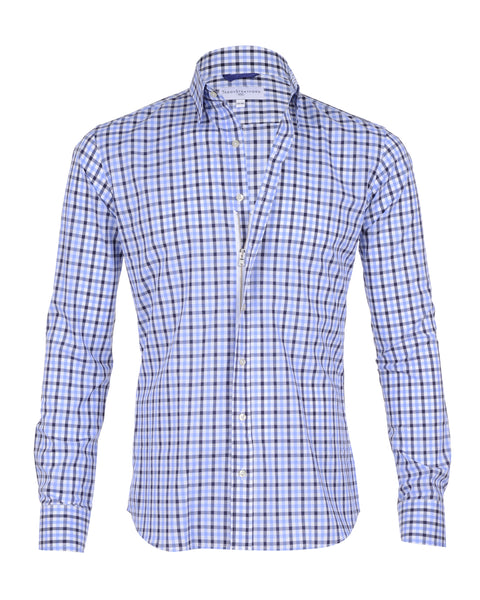 Navy & Light Blue Gingham - Small Batch #5