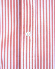 Red Bengal Striped Oxford- Small Batch #34