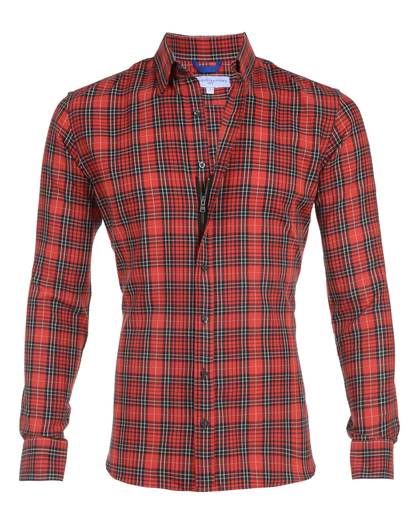 Red & Black Flannel- Small Batch #38