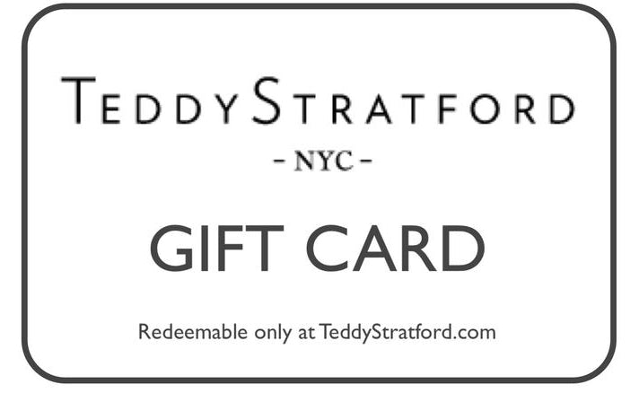 Teddy Stratford - Gift Card