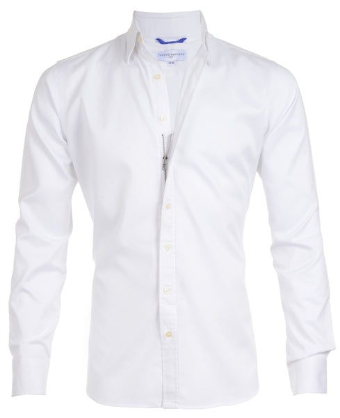 Gateway Shirt #1- The White Gabardine