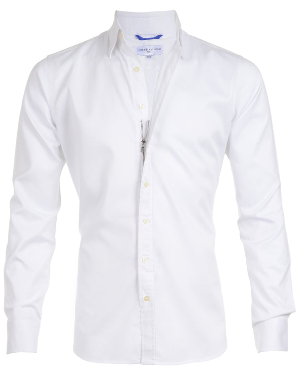 Gateway Shirt - The White Twill