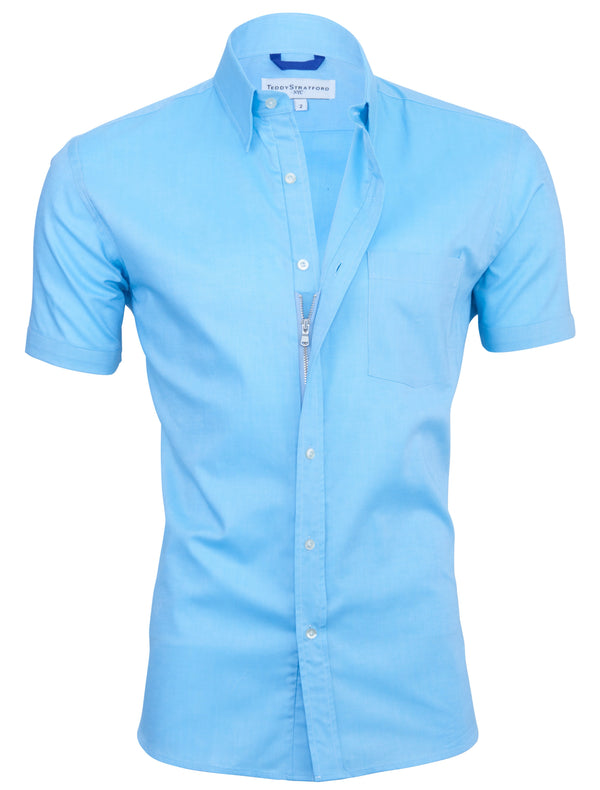 El Aqua Short Sleeved Oxford - Small Batch #141