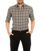 All Season Khaki Flannel- Small Batch #44