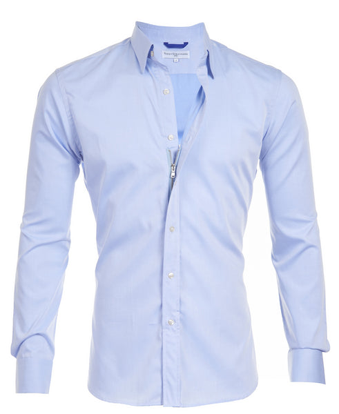 bd7023743b Gateway Shirt #3- The Light Blue Gabardine