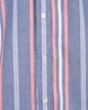 Orange & White Striped Indigo Oxford - Small Batch #66