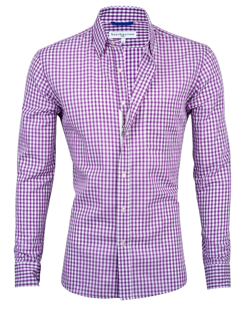 Purple Gingham <br> Small Batch #136