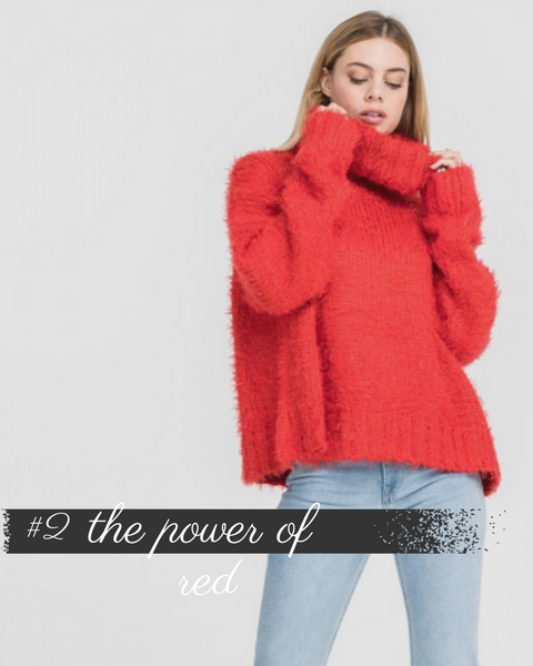 #2 Trend - Power of Red