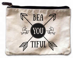 Bea.You.Tiful Canvas Pouch