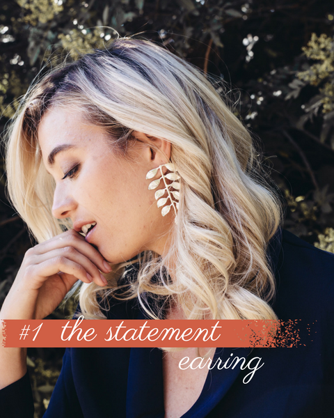 #1 Fall Trend - Statement Earring