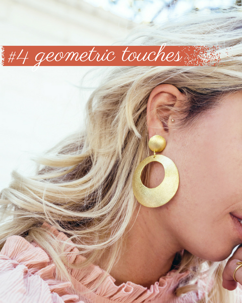Geometric Touches Trend