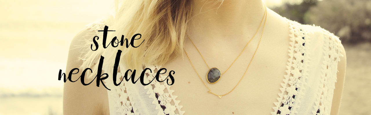 Stone Necklace Lookbook Image