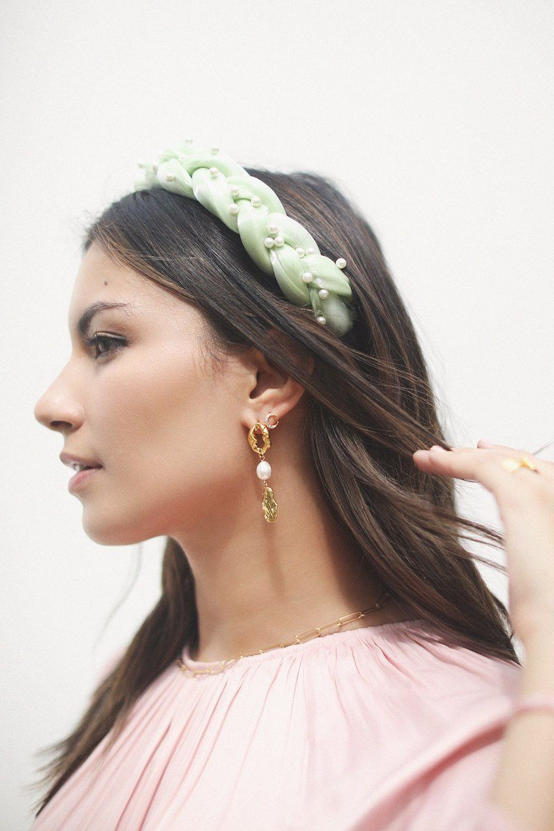 Adeya Pearl Drop Earrings