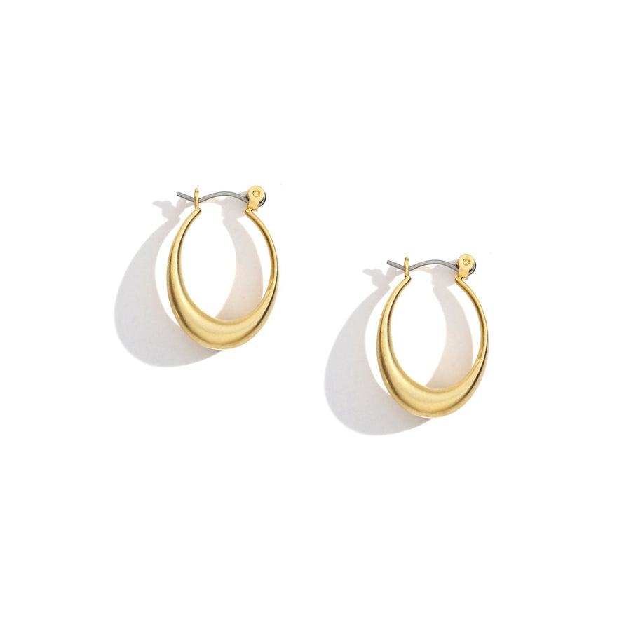 Ashley Mini Hoop Earrings, Earrings - Mulberry & Grand